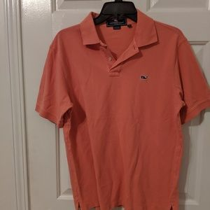Vineyard Vines Shirts - Vineyard Vines Size Small Salmon Polo